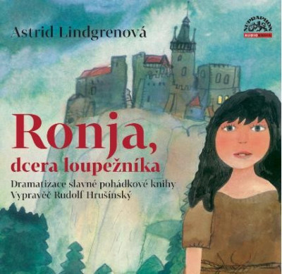 Ronja, dcera loupežníka - audiokniha na CD