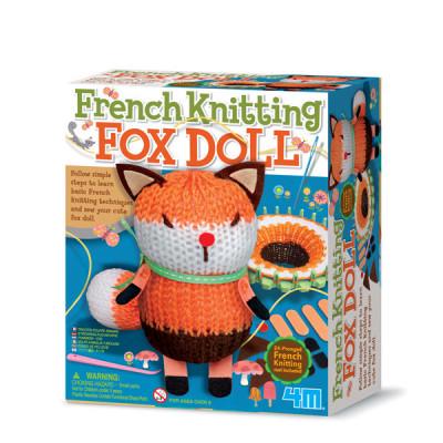 Francouzské pletení - Liška