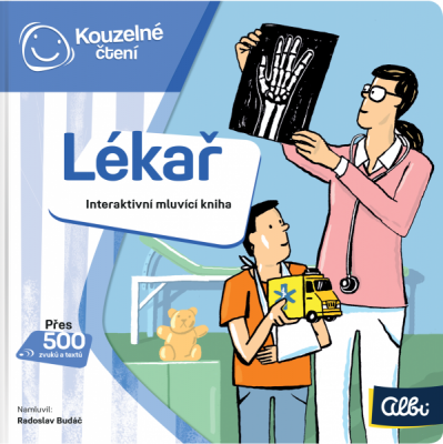 Kouzelné čtení - Minikniha povolání – Lékař
