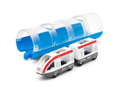 Brio - Tunel a osobní vlak