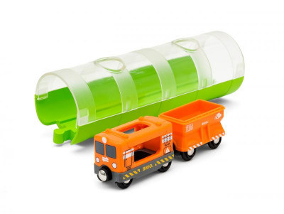 Brio - Tunel a nákladní vlak