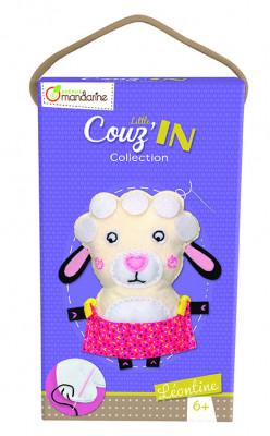 Dětské šití - ovečka Leontina