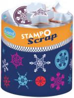 Stampo scrap -  sněhové vločky