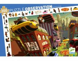 Puzzle - Město budoucnosti - 200 ks