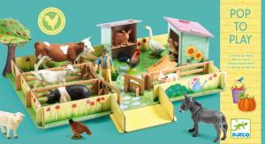 3D kartonová skládačka - Farma