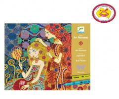 Výtvarná hra Secese (Klimt)