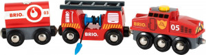 Brio - Hasičský záchranářský vlak