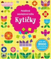 Mozaiková samolepková knížka - Kytičky