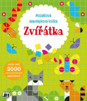 Mozaiková samolepková knížka - Zvířátka