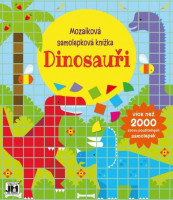 Mozaiková samolepková knížka - Dinosauři