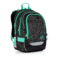 8fef5443480 Školní batoh TOPGAL - CHI 866 A - Black