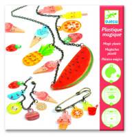 Smršťovací obrázky - výroba šperků - ovocné potěšení