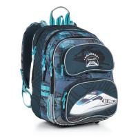 Školní batoh Topgal  - CHI 865 D - Blue