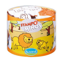Dětská razítka StampoMinos - Safari