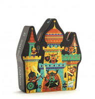 Puzzle - Boj o hrad -  54 ks