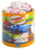 Dětská razítka StampoMinos, závodní auta