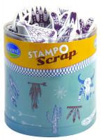 Stampo scrap - indiánské motivy - 28 ks