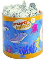 Dětská razítka StampoMinos, mořský svět