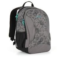 Studentský batoh Topgal - HIT 893 C - Grey