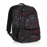 Studentský batoh Topgal - HIT 885 A - Black