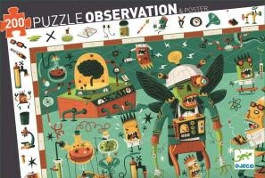 Puzzle - Bláznivá laboratoř - 200 ks