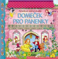 Domeček pro panenky - pohádkové otočné divadlo