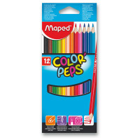 Pastelky Maped Color´Peps - 12 barev