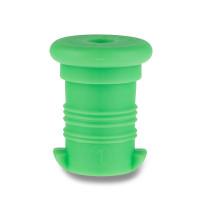 Náhradní zátka na Zdravou lahev, zelená fluo