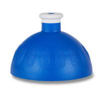 Náhradní víčko na Zdravou lahev, tmavě modrá/bílá