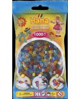 Hama Midi - korálky transparentní 1000 ks