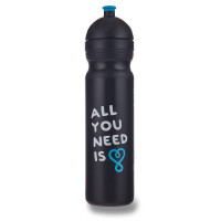 Zdravá lahev 1,0 l - All you need, černá