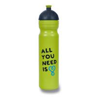 Zdravá lahev 1,0 l - All you need, limetka