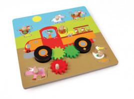 Pohyblivé puzzle -  Farma