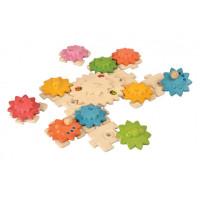 Puzzle - ozubená kolečka