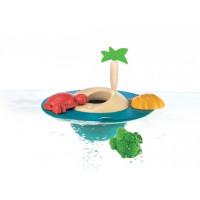 Plovoucí ostrov - hračka do vody
