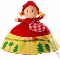 Lilliputiens - oboustranná plyšová hračka Červená Karkulka
