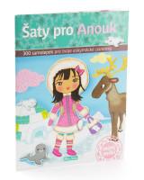 Šaty pro Anouk - kniha samolepek