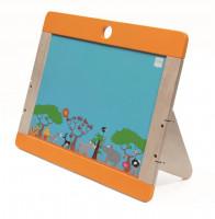 Dřevěná tabule na kreslení Safari oboustranná