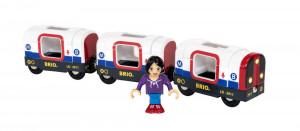 Brio - Souprava metra s figurkou