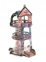 3D kartonová skládačka - Divotvorná věž