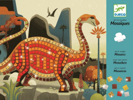 Mozaika - dinosauři