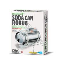 Recy robot z plechovky