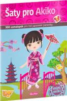 Šaty pro Akiko - kniha samolepek