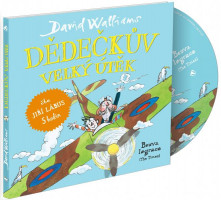 Dědečkův velký útěk - audiokniha na CD