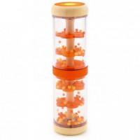Dešťové korálky - chrastítko oranžové