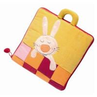 Lilliputiens - textilní knížka - Dobrou noc, malý králíčku
