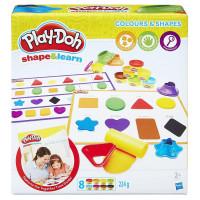 Play-Doh - Barvy a tvary
