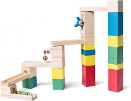 Kuličková dráha - stavebnice - 26 ks