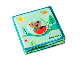 Lilliputiens - medvěd César na rybách - kouzelná knížka do vody