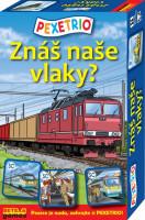 Pexetrio - Znáš naše vlaky?